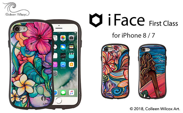 iPhone 8/7専用 コリーンウィルコックス/Colleen Wilcox iFace First Classケース