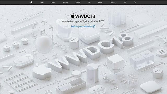 Apple Events - WWDC Keynote, June 2018 - Apple