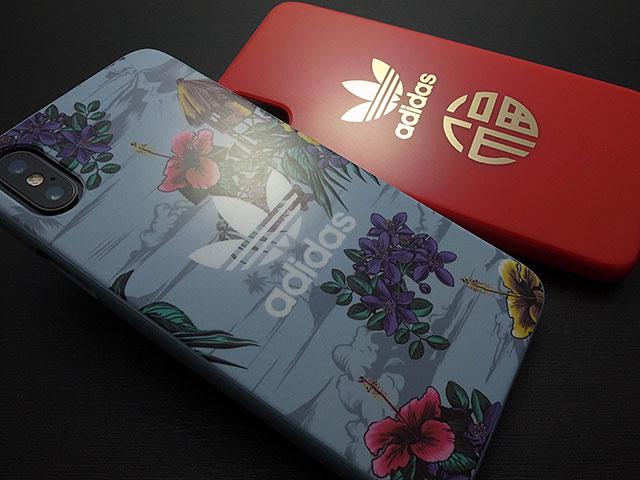 adidas Originals Floral Snap case iPhone X