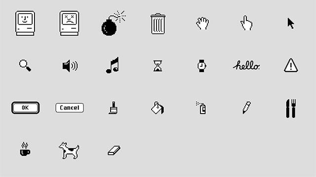 Classic Macステッカー
