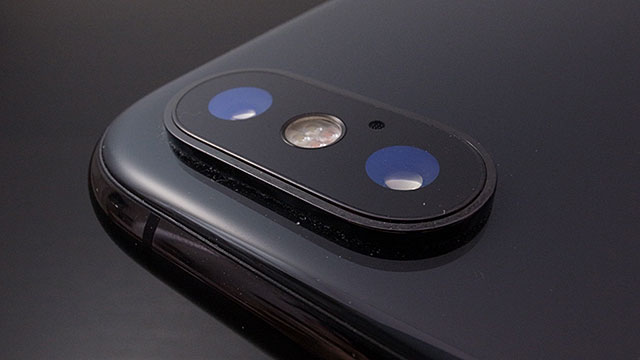 iPhone Xのカメラ