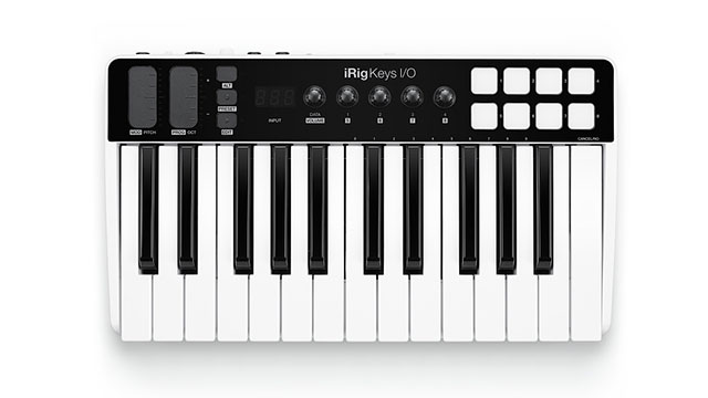 IK Multimedia iRig Keys I/O 25 MIDI Controller and Audio Interface