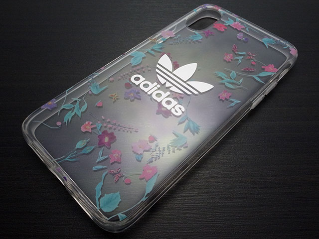adidas Originals Clear Case Graphic AOP iPhone X Colorful