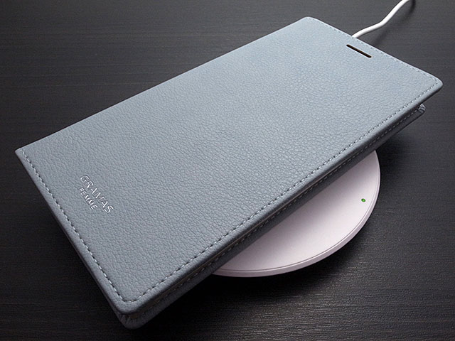 "GRAMAS FEMME ""Colo"" PU Leather Book Case for iPhone XS Max"