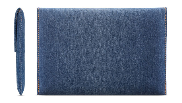 Incase Envelope Sleeve in Denim for MacBook