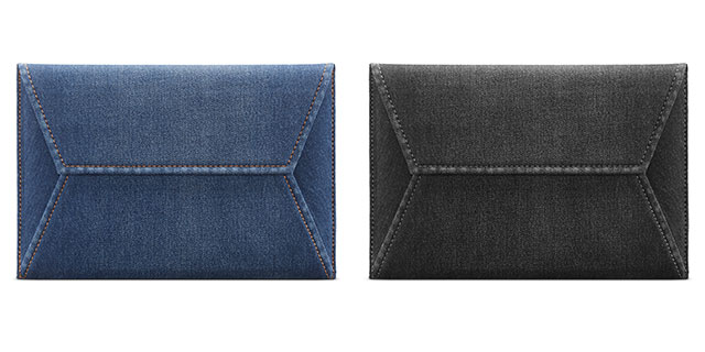 Incase Envelope Sleeve in Denim for MacBook