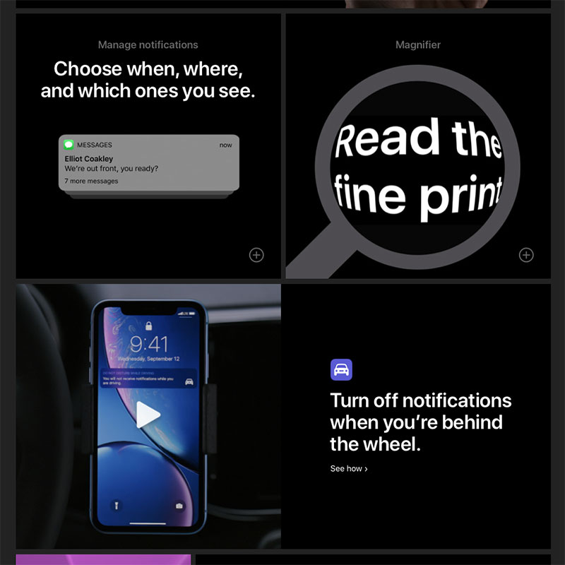 That's iPhone - iPhone Features