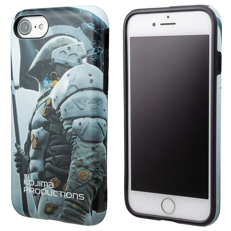 GRAMAS COLORS × KOJIMA PRODUCTIONS Hybrid Shell Case for iPhone 8/7/6s/6 Ludens