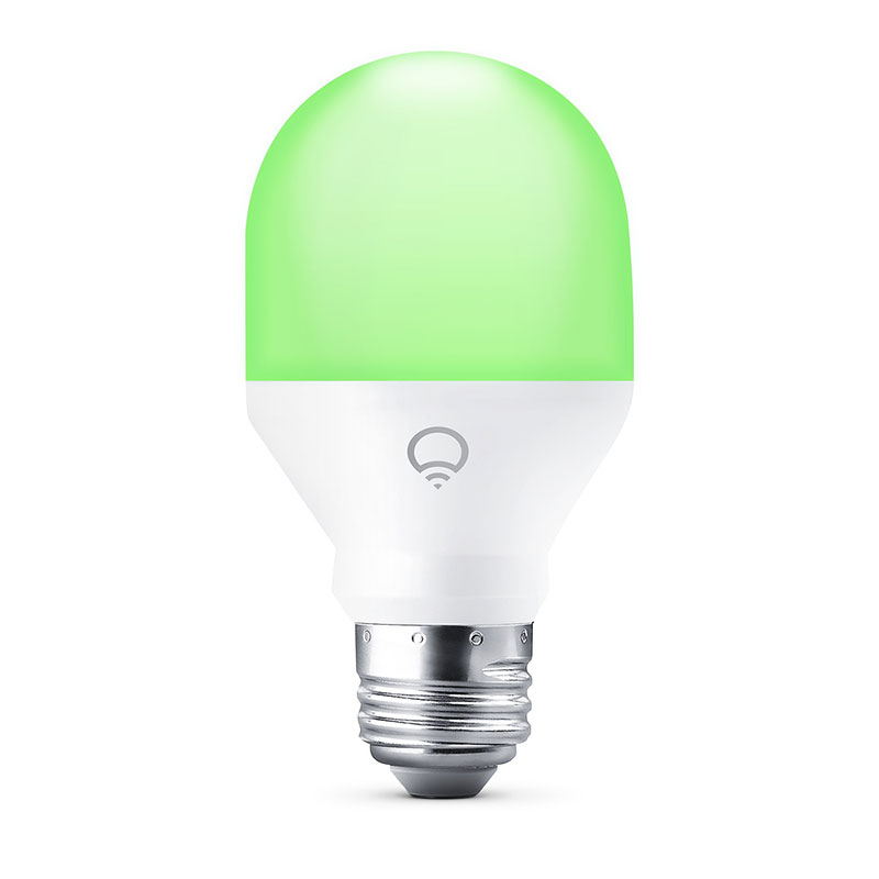 LIFX Mini Color and White A60 E26 Wi-Fi Smart LED Light Bulb