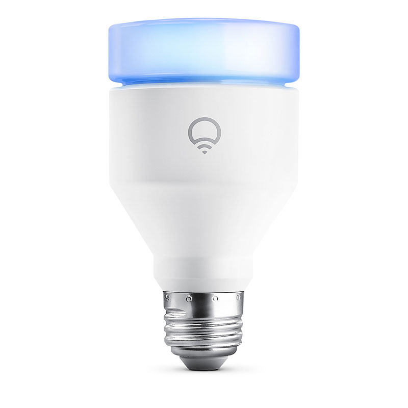 LIFX Multicolor A19 E26 Dimmable Wi-Fi Smart LED Light Bulb