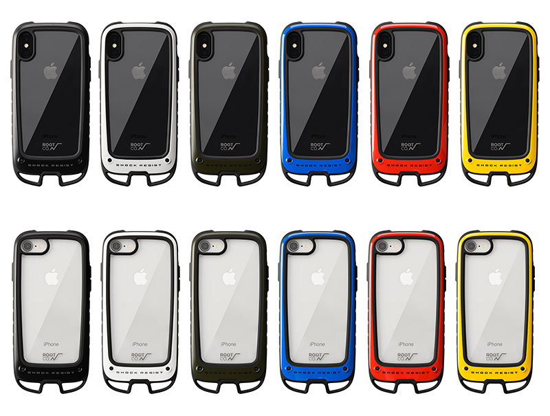GRAVITY Shock Resist Case +Hold. for iPhone