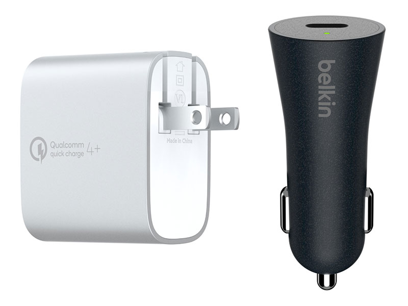 Belkin Quick Charge 4+充電器