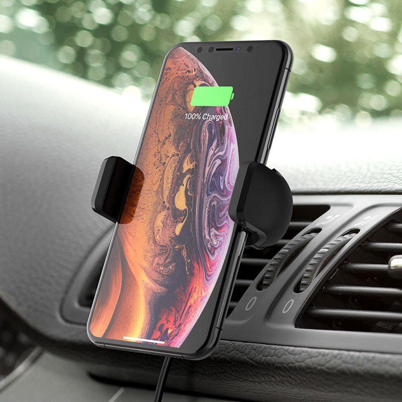 Belkin BOOST↑CHARGE ワイヤレス充電車載ホルダー(10W)