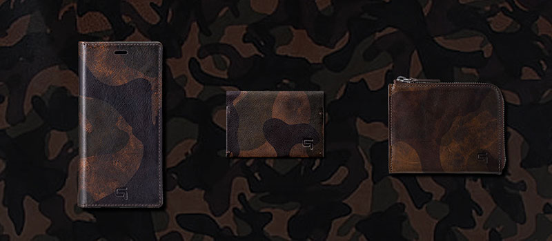 GRAMAS 2019 A/W Dark Camouflage Collection