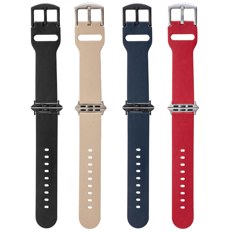 GRAMAS Italian Genuine Leather Watchband for Apple Watch