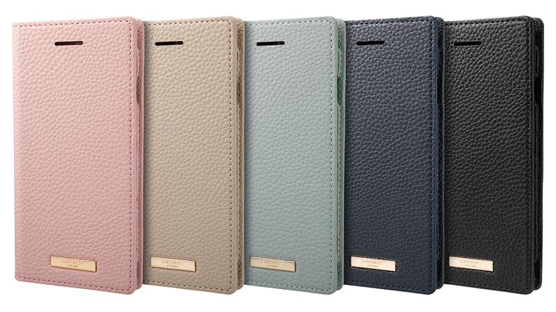 GRAMAS COLORS Shrink PU Leather Book Case