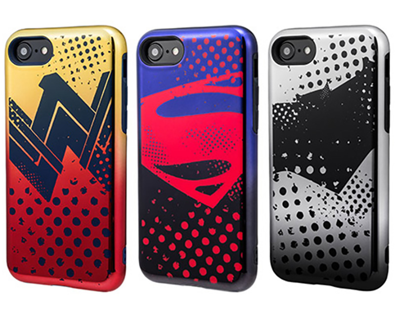 GRAMAS COLORS Hybrid Case with Justice League for iPhone SE