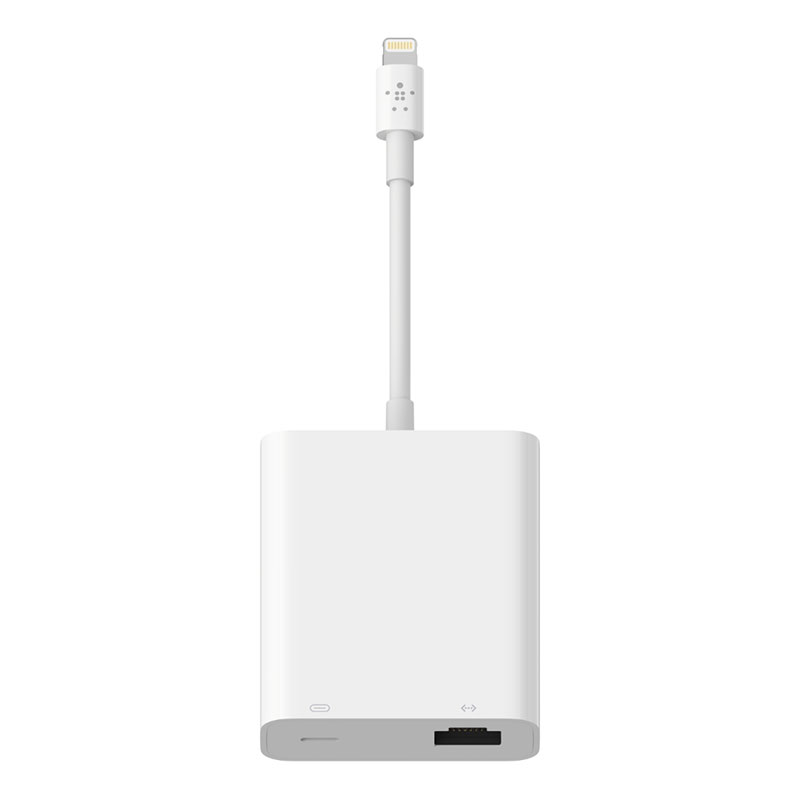 BELKIN Lightning to LANポート + Lightning変換アダプタ
