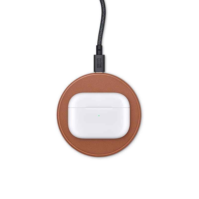Native Union Drop Leather Wireless Charging Pad 7.5W