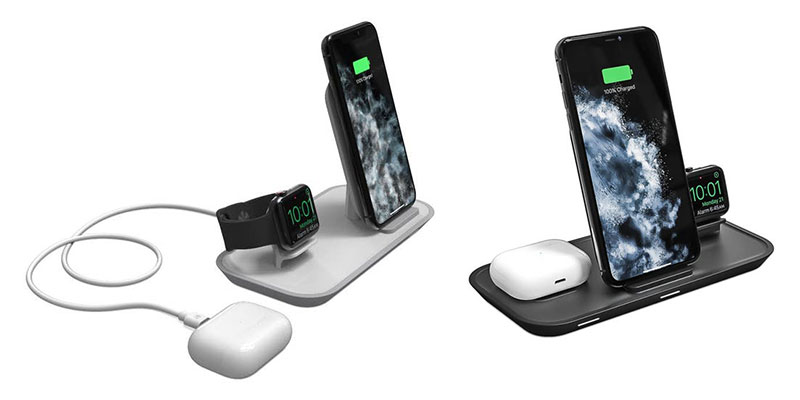mophie 2-in-1/3-in-1 wireless charging stand