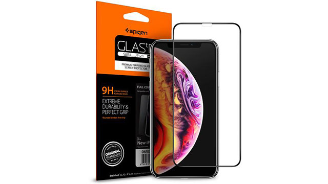 Spigen Full Cover GLAS for iPhone XS