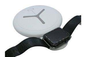 スマートフォン & Apple Watchデュアルワイヤレスチャージャー
