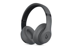 Beats Studio3 Wirelessオーバーイヤーヘッドフォン グレイ