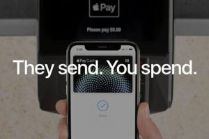 Apple Pay — They send, you spend