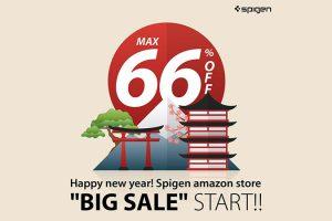 Spigen Amazonの初売り 2019