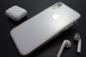 Apple iPhone XRクリアケース