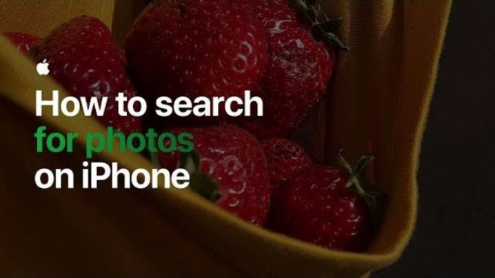 How to search for photos on iPhone