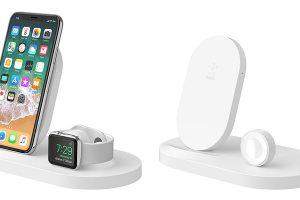 Belkin BOOST↑UP ワイヤレス充電ドック(iPhone + Apple Watch向け、USB-Aポート付き)