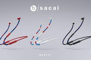 BeatsXイヤフォンsacaiスペシャル・エディション