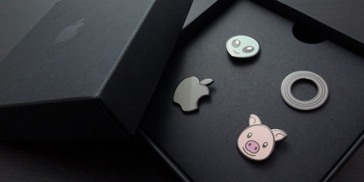 Apple Animoji Pins