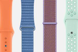 Apple Watch用バンド 2019年春の新色