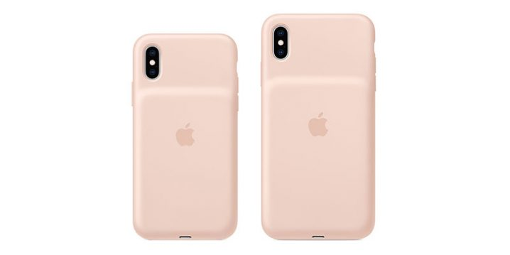 Smart Battery Case for iPhone XS ピンクサンド
