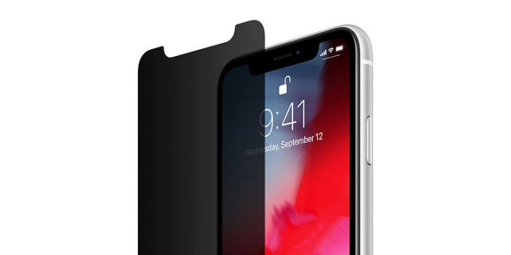 Belkin InvisiGlass Ultra Privacy Screen Protection for iPhone