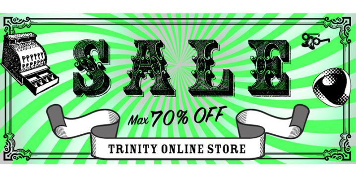 Trinity Online Store 在庫処分セール