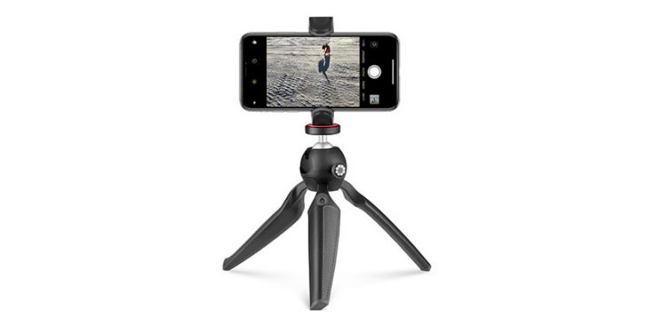 Joby HandyPod with iPhone Clamp and GoPro Adapter