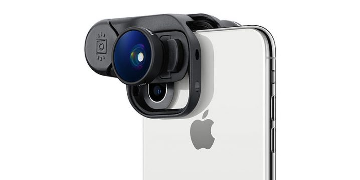olloclip Fisheye + Super-Wide + Macro Essential Lenses for iPhone XS