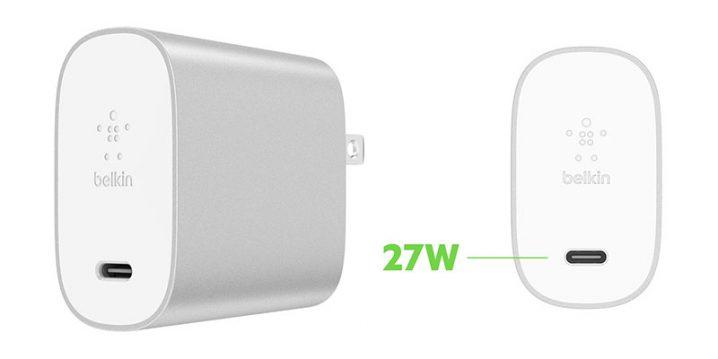 ベルキン BOOST↑CHARGE USB充電器(27W USB-C)