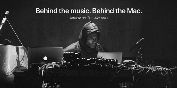 Behind the Music. Behind the Mac