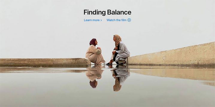 Finding Balance Shot on iPhone XS