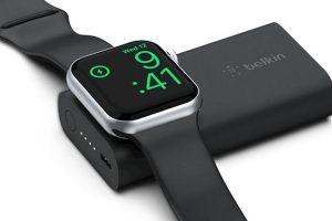 Belkin BOOST↑CHARGE Apple Watch用モバイルバッテリー(2,200mAh)