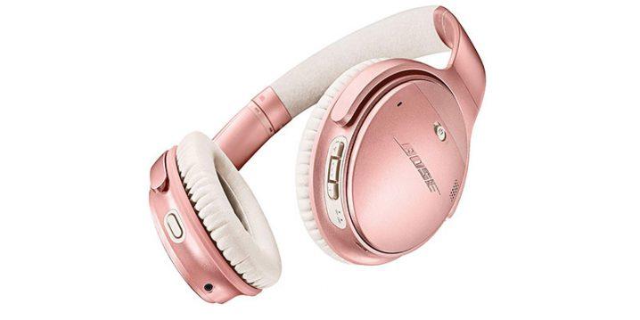 BOSE QuietComfort 35 wireless headphones II ローズゴールド