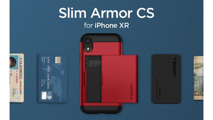 Spigen スリム・アーマー CS for iPhone XR