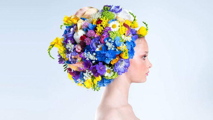 フォトラボ:花結い師TAKAYAが魅せる生花のヘッドドレス