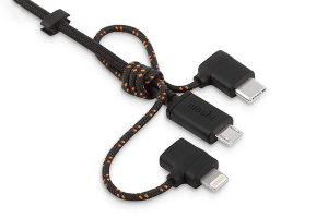 moshi 3-in-1 Universal Charging Cable