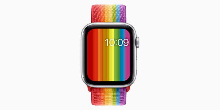 Apple Watch プライドエディションスポーツループ