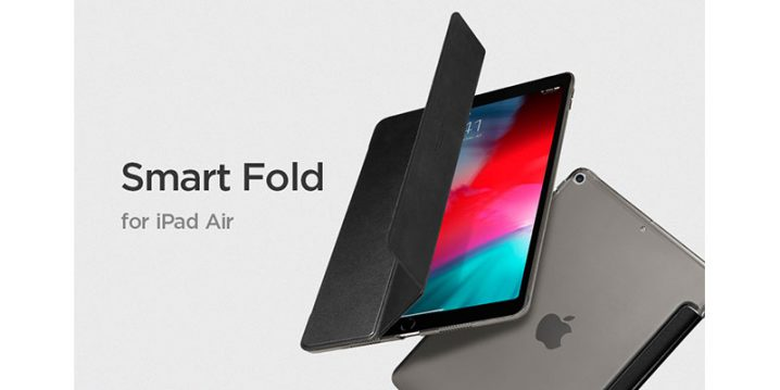 Spigen iPad Air 10.5 スマートフォールド ケース